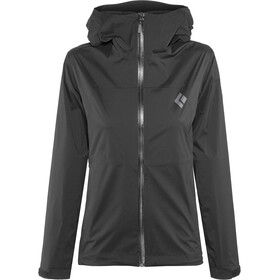 Black Diamond Stormline Stretch Regen Shell Jacke Damen black